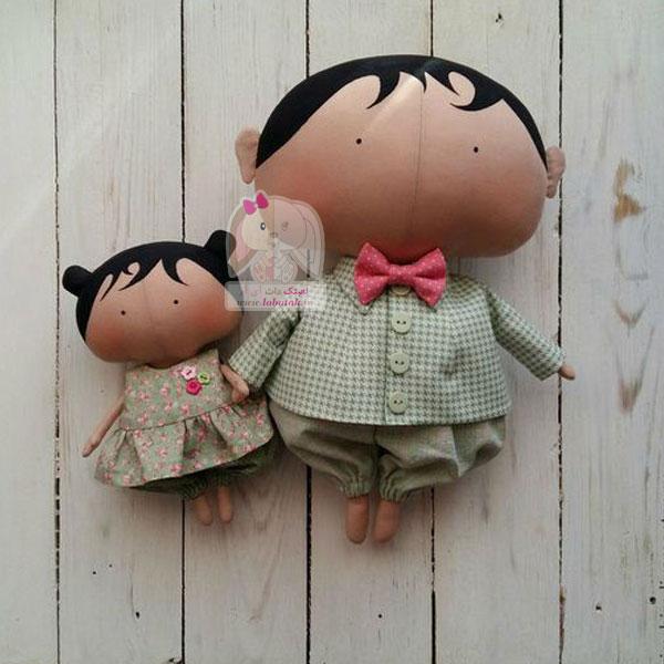 دانلود الگوی عروسک بیبی تیلدا | لعبتک