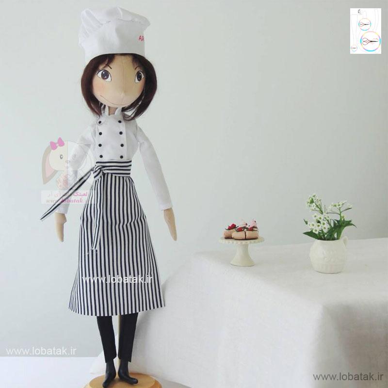دانلود الگوی عروسک مِری | لعبتک