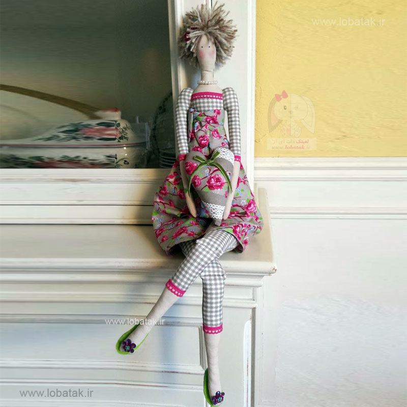 دانلود الگوی عروسک تیلدا شماره یک | لعبتک