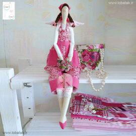 دانلود الگوی عروسک تیلدا مدل شماره دو | لعبتک