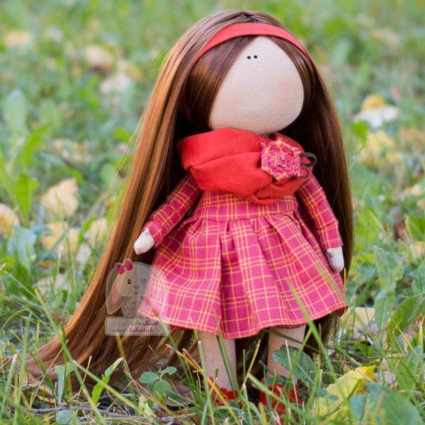 دانلود الگوی عروسک روسی مدل شماره هفت | لعبتک