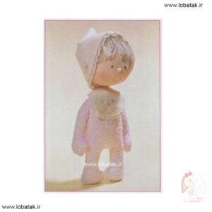 دانلود الگوی عروسک روسی مدل شماره هشت | لعبتک