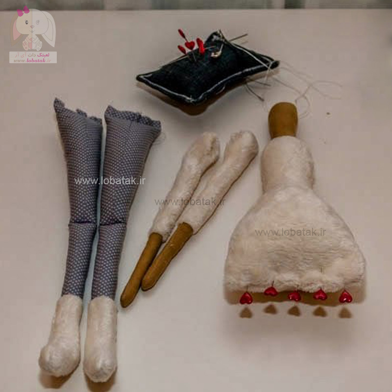 دانلود الگوی عروسک تیلدا شماره ۵