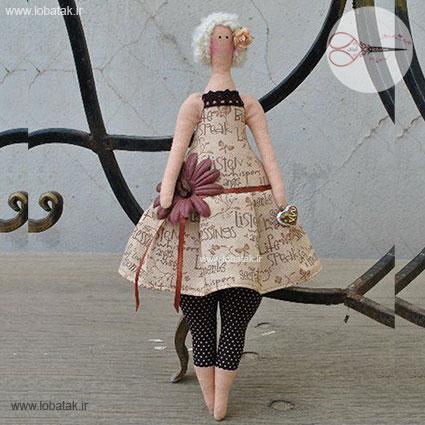 دانلود الگوی عروسک تیلدا چاق ۲ | لعبتک
