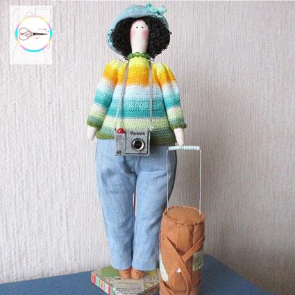 دانلود الگوی عروسک تیلدا چاق 2 | لعبتک