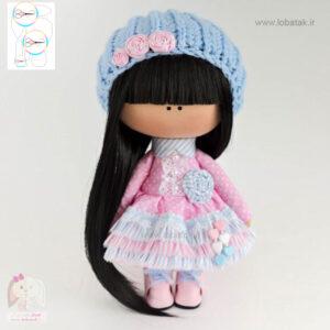 دانلود الگوی عروسک روسی شماره یک | لعبتک