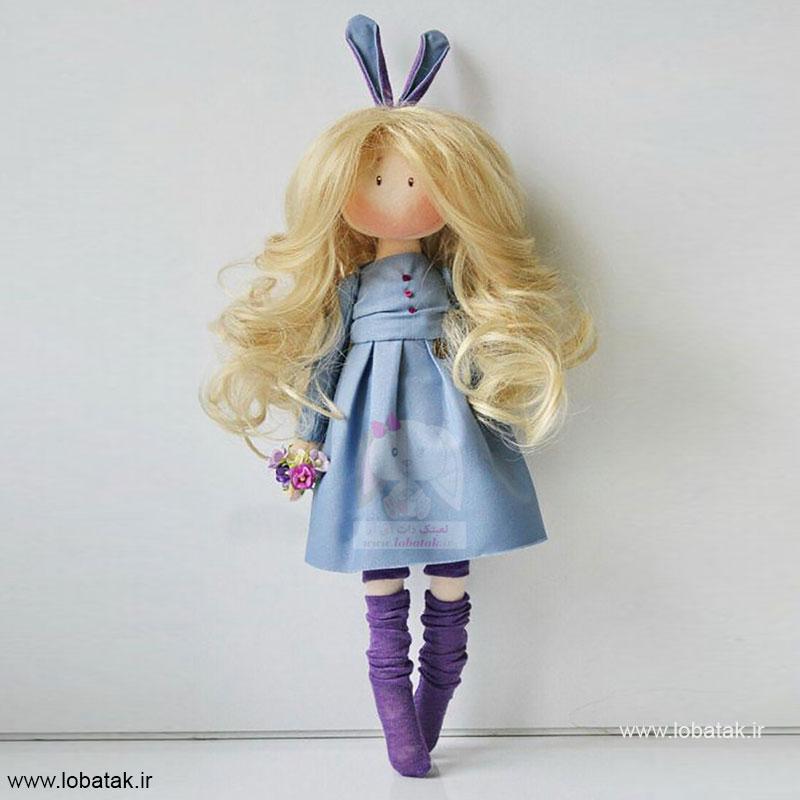 دانلود الگوی عروسک پَندی   لعبتک