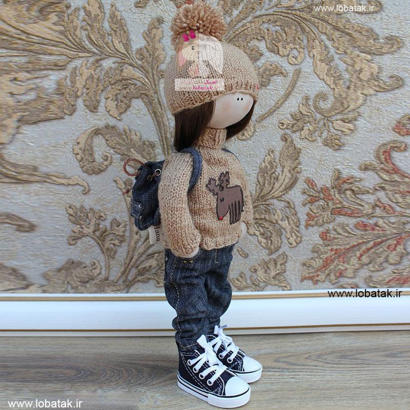 دانلود الگوی عروسک روسی شماره دو | لعبتک