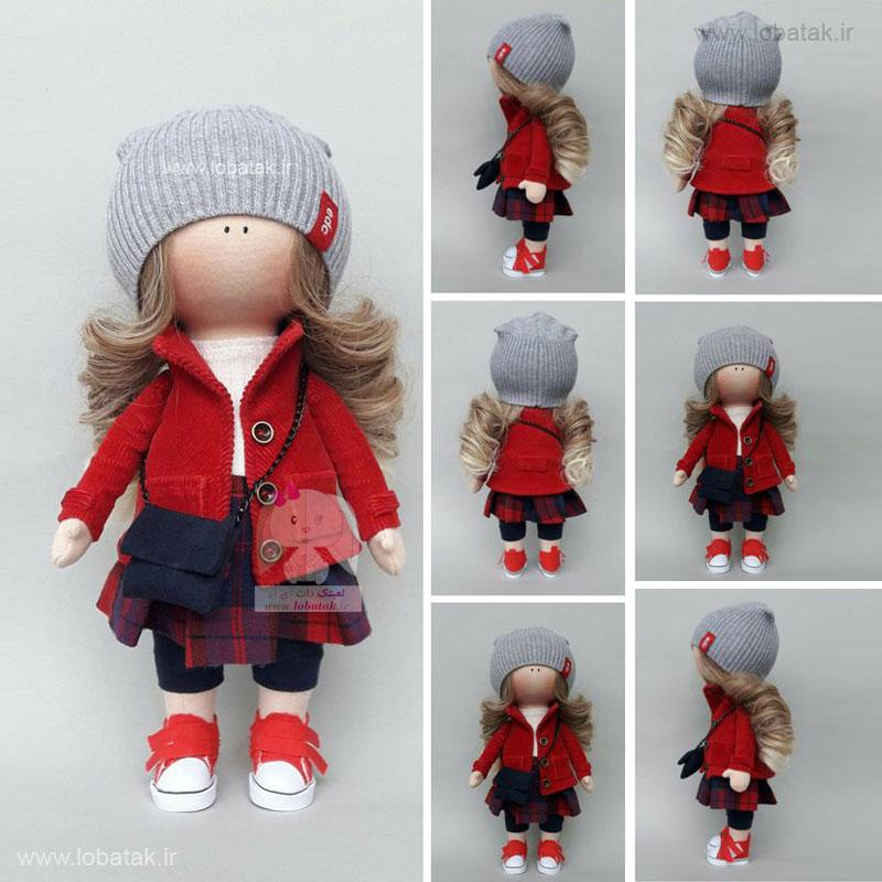 دانلود الگوی عروسک روسی مدل شماره پنج | لعبتک