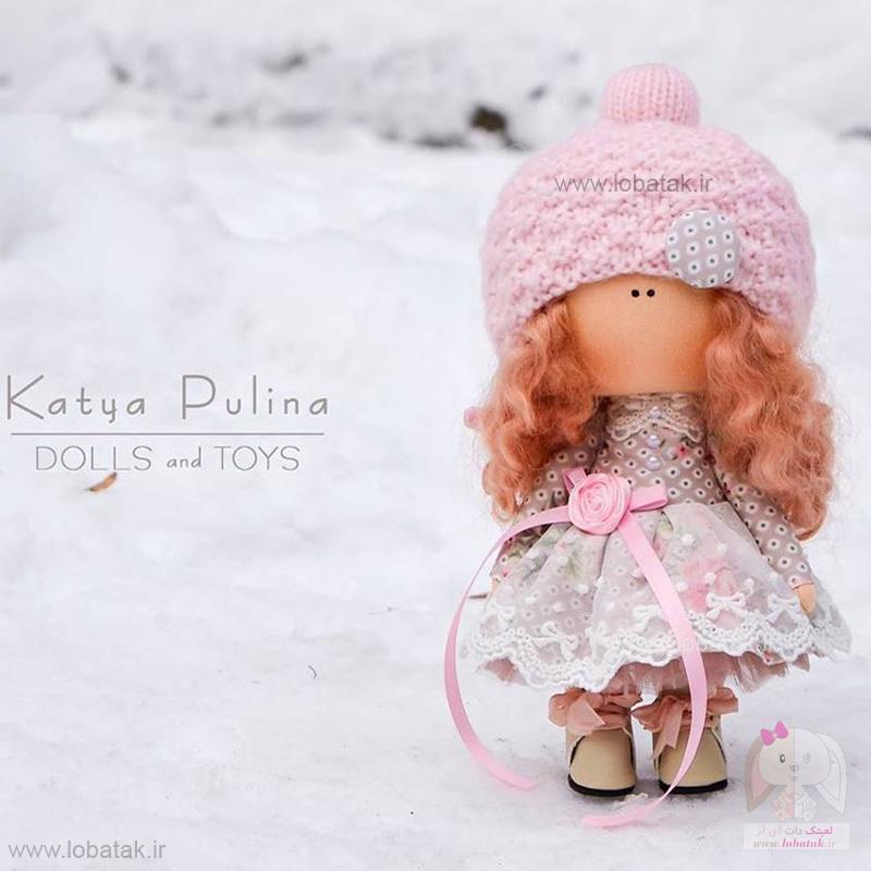 دانلود الگوی عروسک روسی شماره یک   لعبتک