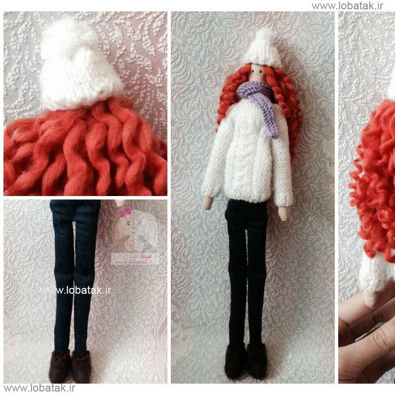 دانلود الگوی عروسک تیلدا مدل  ۴ | لعبتک