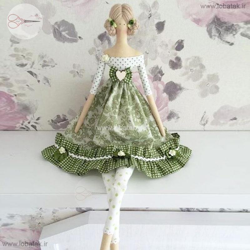 دانلود الگوی عروسک تیلدا مدل شماره سه | لعبتک